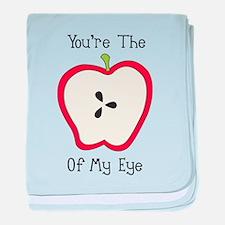 Apple Of My Eye baby blanket