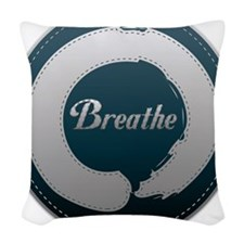 Breathe Enso Woven Throw Pillow