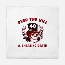 40th Birthday Cheating Death Queen Duvet