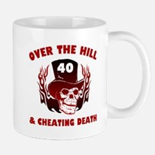 40th Birthday Cheating Death Mug