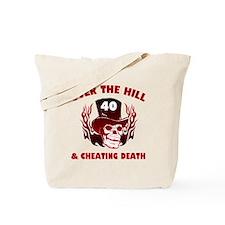 40th Birthday Cheating Death Tote Bag