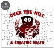 40th Birthday Cheating Death Puzzle