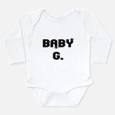 BABY G. Long Sleeve Infant Bodysuit