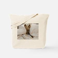 Yorkie Sleepy Tote Bag