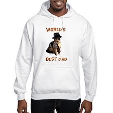 Worlds Best Dad Cat Hoodie