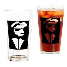 8 Bit Walt Jabsco Drinking Glass