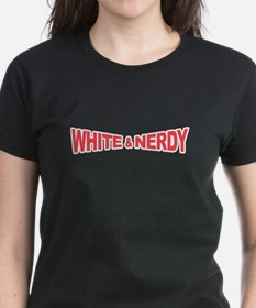 White and Nerdy Tee