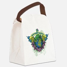 Mother Earth Canvas Lunch Bag
