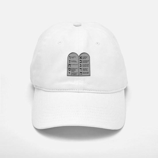Ten Commandment Baseball Baseball Cap