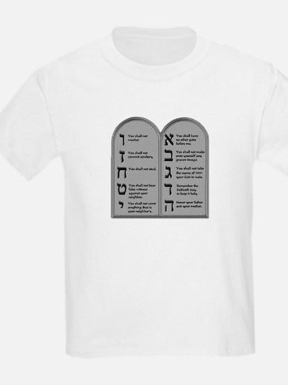 Ten Commandment Kids T-Shirt