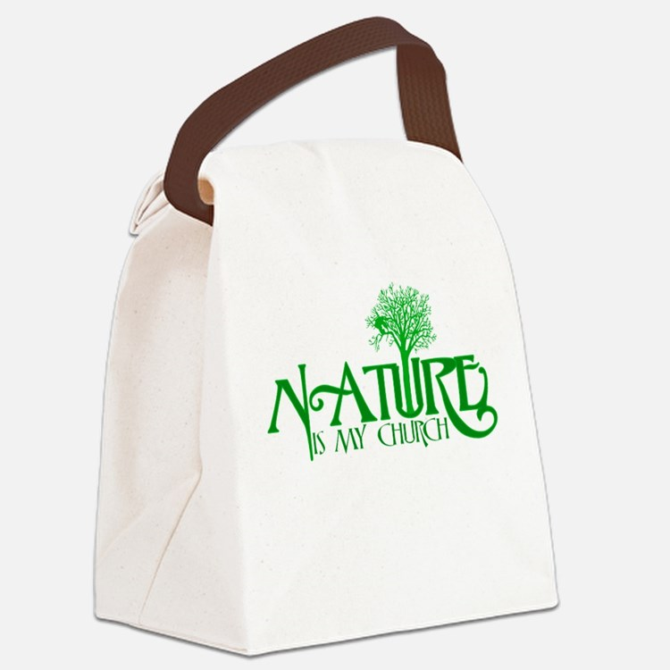 Nature is my Church Canvas Lunch Bag