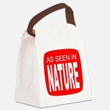 As Seen in Nature Canvas Lunch Bag