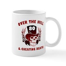 80th Birthday Cheating Death Mug
