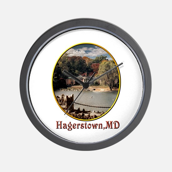 Hagerstown Museum Wall Clock
