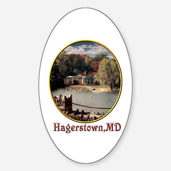 Hagerstown Museum Oval Decal