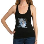 Stop Global Warming Racerback Tank Top