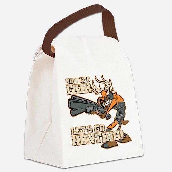 Cute Anti hunting Canvas Lunch Bag