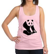 Giant Panda Racerback Tank Top