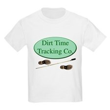 Dirt Time Tracking Company Kids T-Shirt