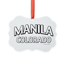 Manila Colorado Ornament