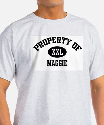 Property of Maggie Ash Grey T-Shirt