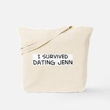 Survived Dating Jenn Tote Bag