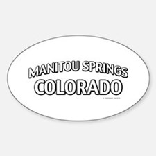 Manitou Springs Colorado Decal