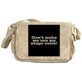Actor Canvas Messenger Bags