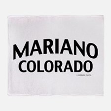 Mariano Colorado Throw Blanket