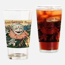 PontBeachPosterSq.jpg Drinking Glass