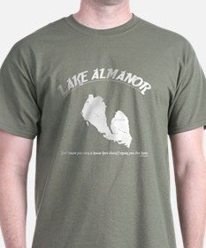 Lake Almanor Dark Tee