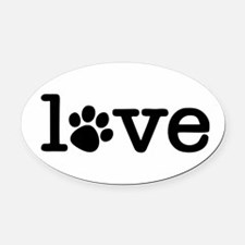Cute Lifestyle Oval Car Magnet