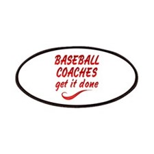 Baseball Coaches Patches