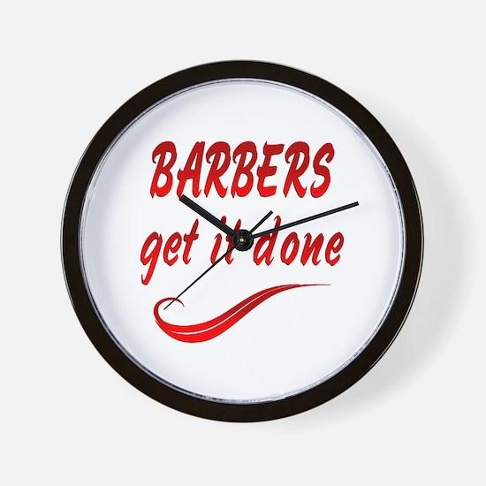 Barbers Wall Clock