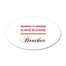 One Awesome Brother Wall Decal