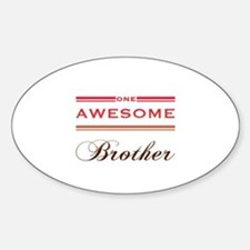 One Awesome Brother Decal