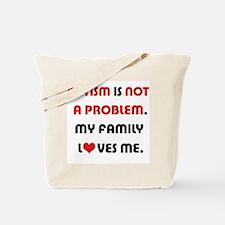 Autism - Not A Problem Tote Bag