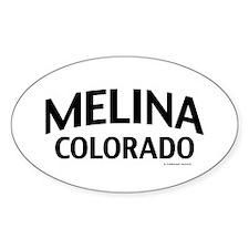 Melina Colorado Decal