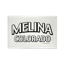 Melina Colorado Rectangle Magnet
