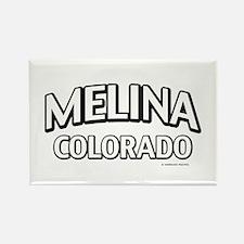 Melina Colorado Rectangle Magnet