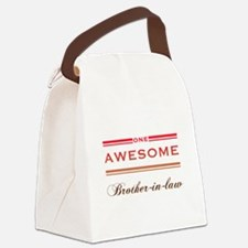One Awesome Brother-In-Law Canvas Lunch Bag