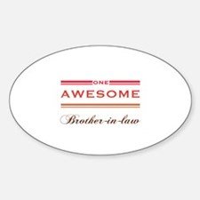 One Awesome Brother-In-Law Decal