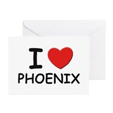 I love Phoenix Greeting Cards (Pk of 10)