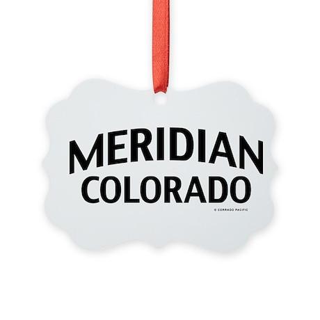 Meridian Colorado Ornament