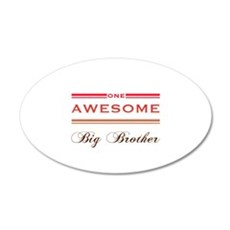 One Awesome Big Brother Wall Decal