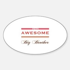 One Awesome Big Brother Decal