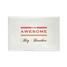 One Awesome Big Brother Rectangle Magnet