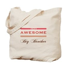 One Awesome Big Brother Tote Bag