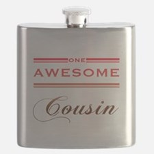One Awesome Cousin Flask