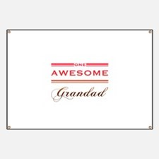 One Awesome Grandad Banner